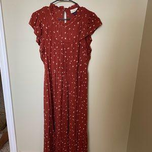 Universal Thread Prairie Dress EUC